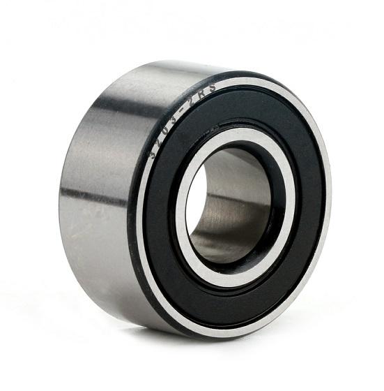 3203 2RS double row angular ball bearings 17x40x17.5mm