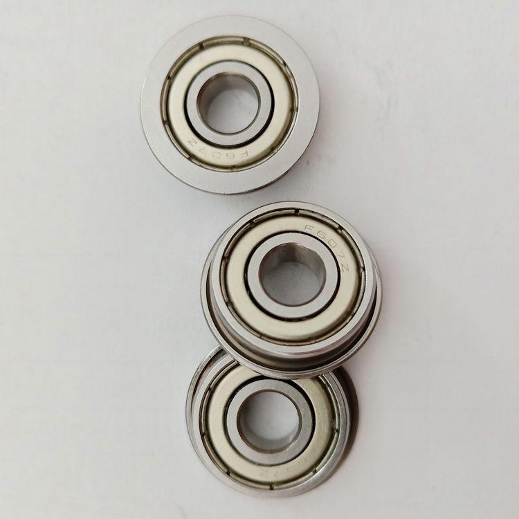 F607ZZ flanged ball bearings 7x19x6mm