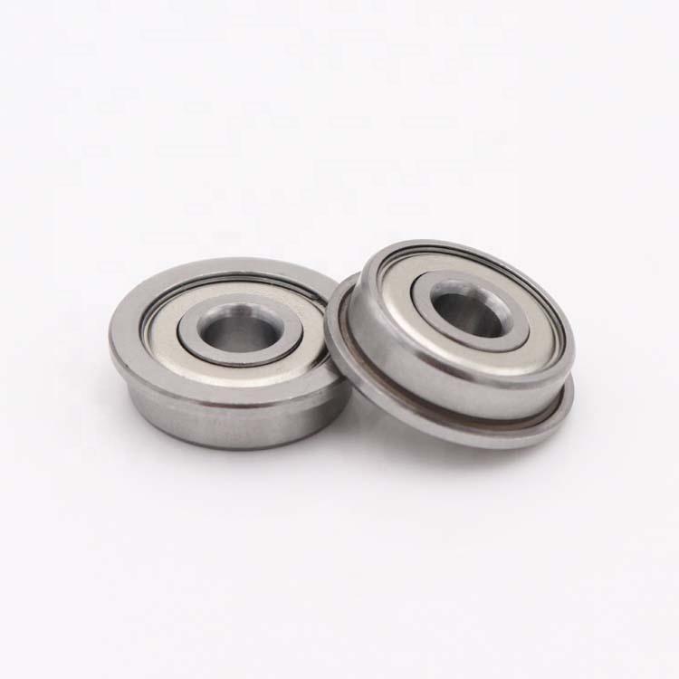 F604ZZ flanged ball bearings 4x12x4mm