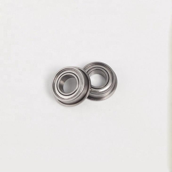F683ZZ flanged ball bearings 3x7x3mm