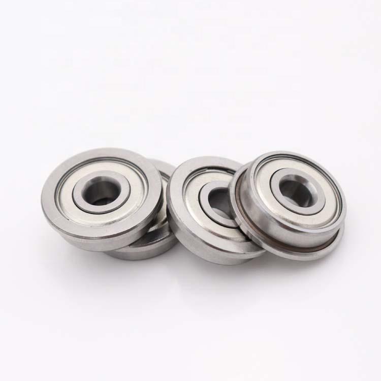 F624ZZ flanged miniature ball bearings 4x13x5mm