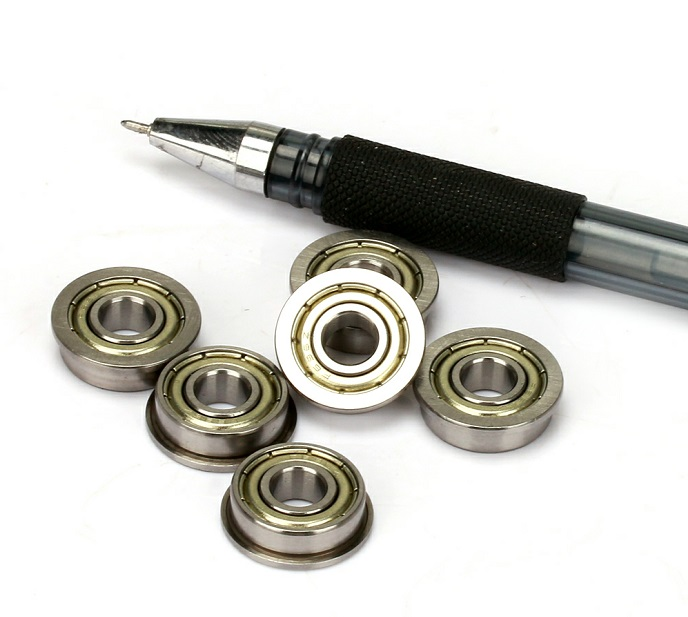 F698ZZ flanged ball bearings 8x19x6mm