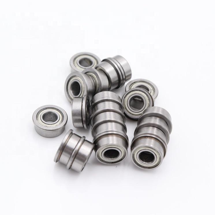 MF72ZZ flanged miniature ball bearings 2x7x3mm