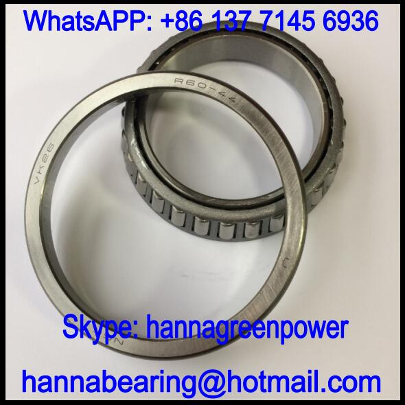 R60-44 Automobile Bearing / Tapered Roller Bearing 60x90x12.5/17mm