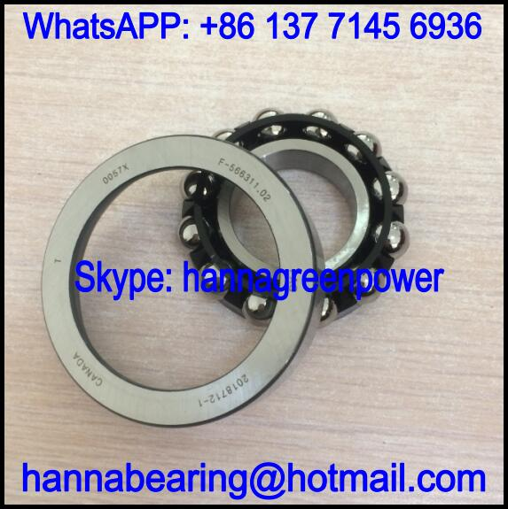 F-566311.02 Automobile Bearing / Angular Contact Ball Bearing 30.15x64.25x13/14.9mm