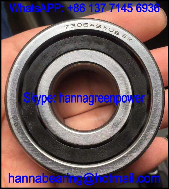 7305A5hU9 Cryogenic Immersed Pump Bearing / Stainless Steel Bearing 25x62x17mm