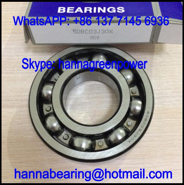 50BC03J30X Motor Bearing / Deep Groove Ball Bearing 50x110x27mm
