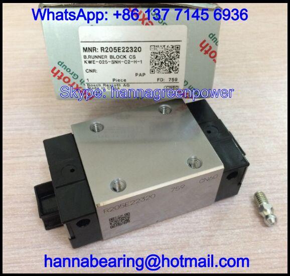 R205E22320 Linear Guideway Block / Runner Block 48x86.2x34mm