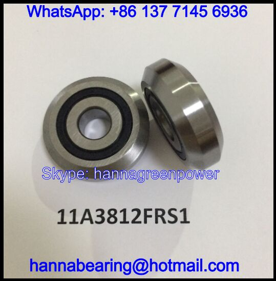 11A3812FRS1 Guide Roller Bearing / Track Roller Bearing 11x38x12mm