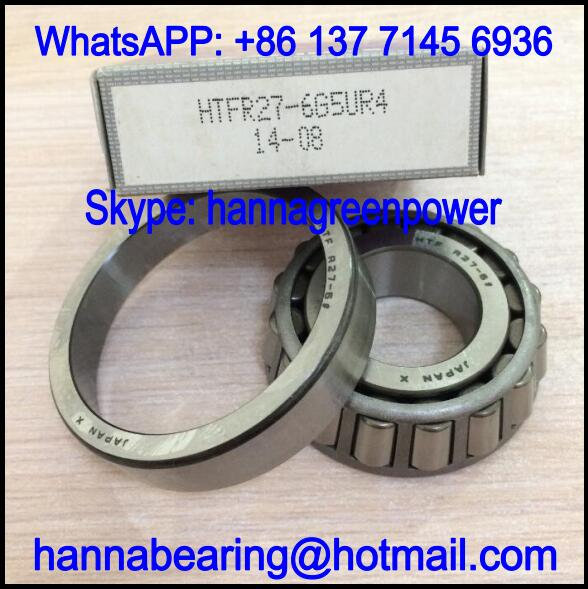 HTFR27-6G5UR4 Automotive Bearing / Tapered Roller Bearing 27*62*13.75/17mm