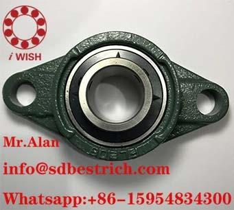 UCFL206 pillow block bearing 62X30X38mm