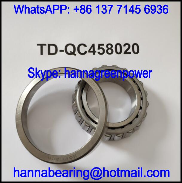 TD-QC458020 Automobile Bearing / Tapered Roller Bearing 45.2x80x16.5/20.5mm