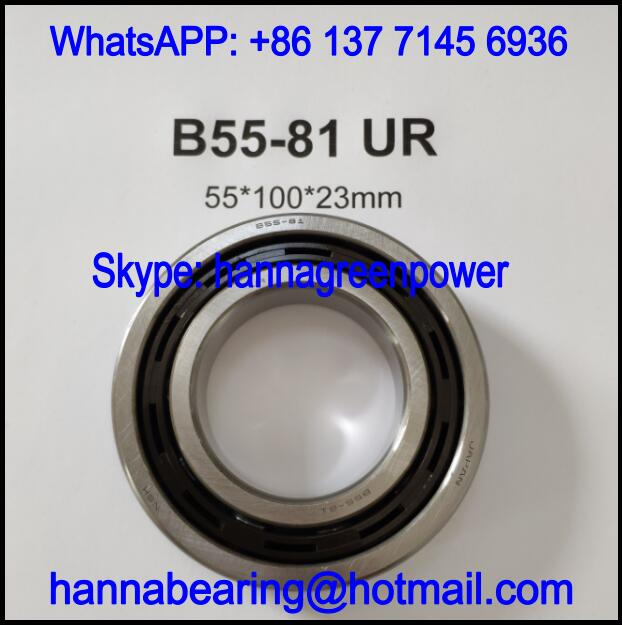 B55-81 / B55-81UR Automobile Deep Groove Ball Bearing 55x100x23mm