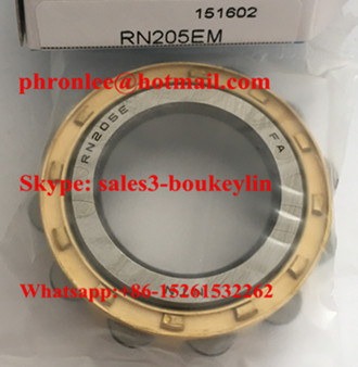 RN205M Cylindrical Roller Bearing 25x45x15mm