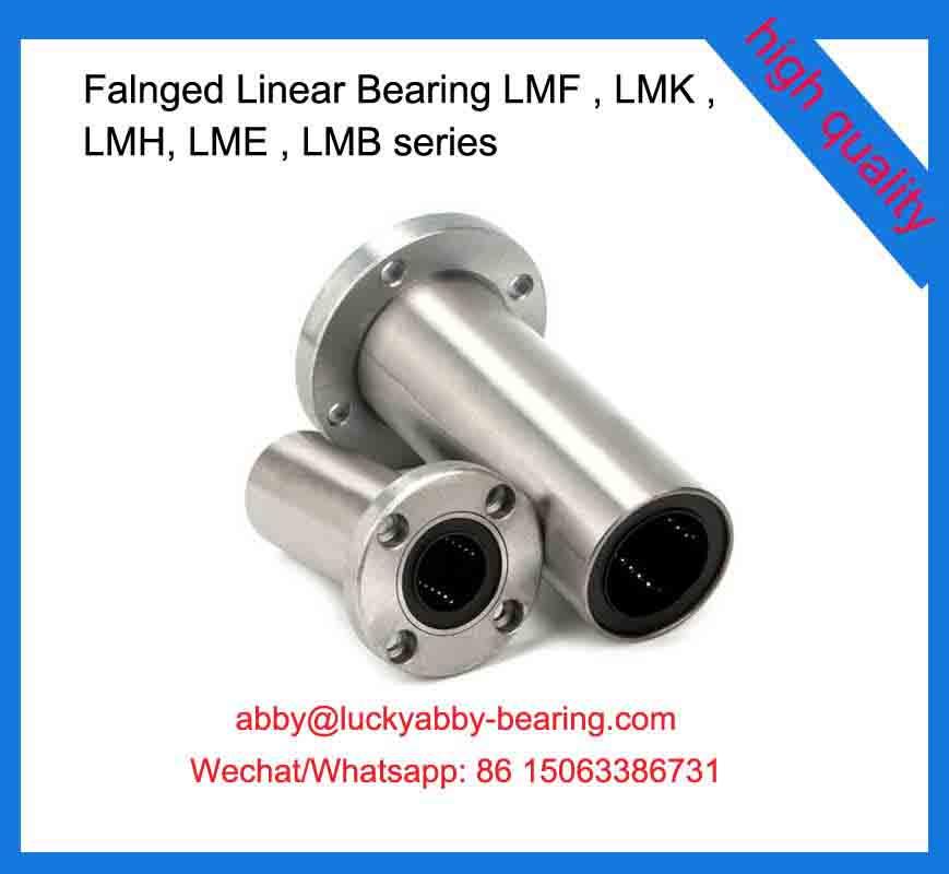 LMF25LUU Flanged Linear Bearing 25*40*112mm
