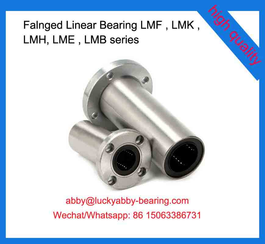 LMF6UU Flanged Linear Bearing 6*12*19mm