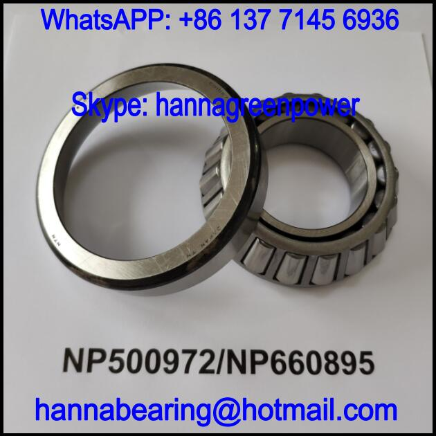 NP500972/NP660895 Automobile Differential Bearing / Tapered Roller Bearing 48.45x92.9x26.5mm