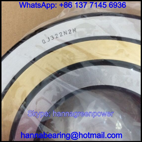 QJ322M / QJ322N2M / QJ322-N2-MPA Four Point Contact Bearings 110x240x50mm