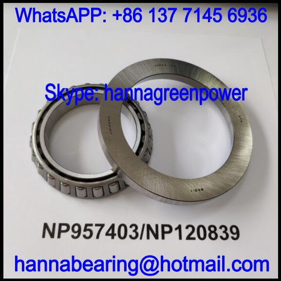 NP957403/NP120839 Automobile Differential Bearing / Tapered Roller Bearing 60x107x11/15.1mm