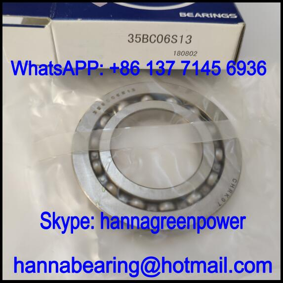 35BC06S13 Automobile Bearing / Deep Groove Ball Bearing 35x68x8mm