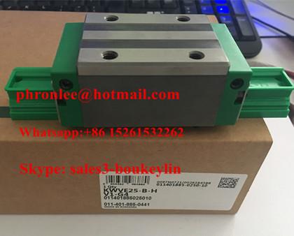 KWVE25-B-EC-V1-G3 Linear Carriages 33x73x58.2mm