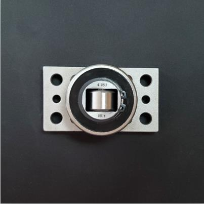 4.053 APS combined bearing with mounting plate