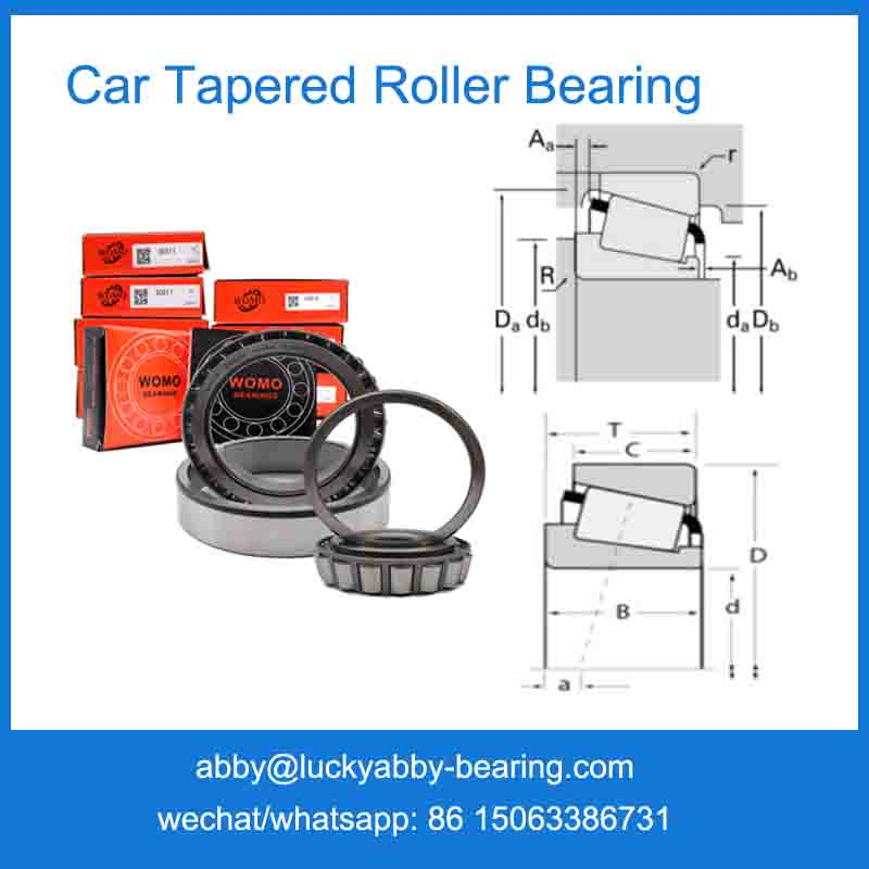 30312 Car Tapered Roller Bearing Automotive bearing 60*130*33.5mm