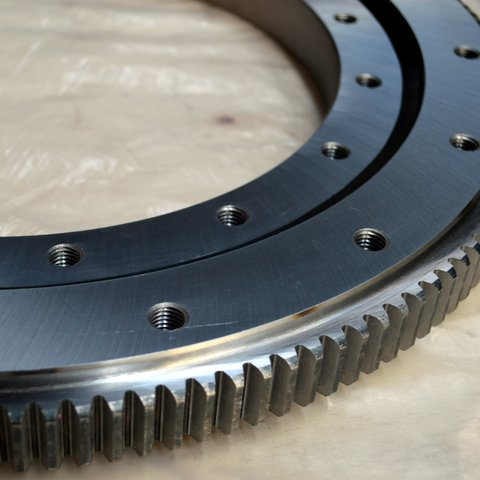 16258001 slewing bearing with external gear DT double row