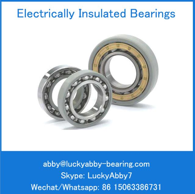 NU1020ECM/C3VL0241 Electrically Insulated Cylindrical Roller Bearing 100mm*150mm*24mm
