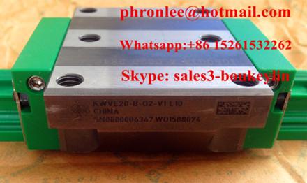 KWVE20-B-EC-V1-G4 Linear Carriages 28x59x50.4mm