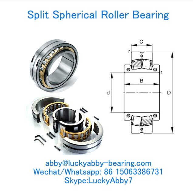 239SM600-MA Split Spherical Roller Bearings 600MMX850MMX165MM