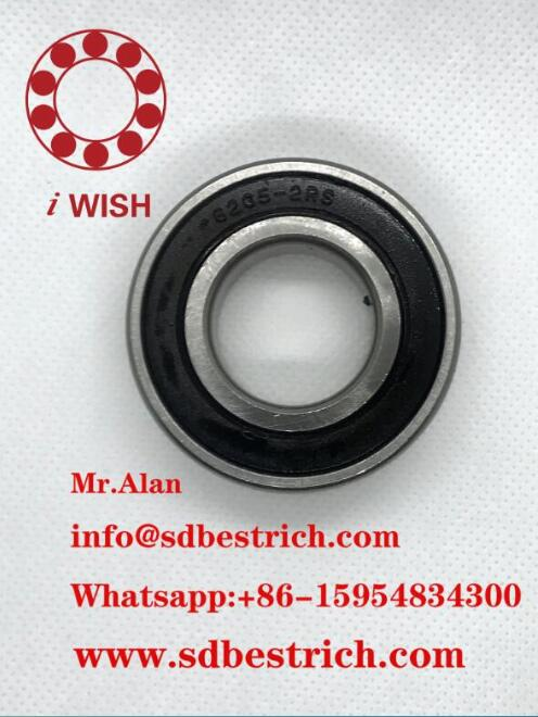 62052RS Deep Groove Ball Bearing 25×52×15mm