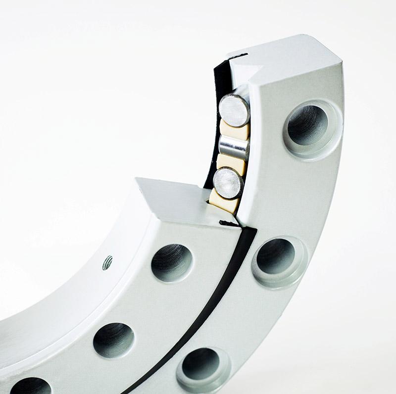 RKS.160.16.1314 large slewing bearings none gear cross roller bearing