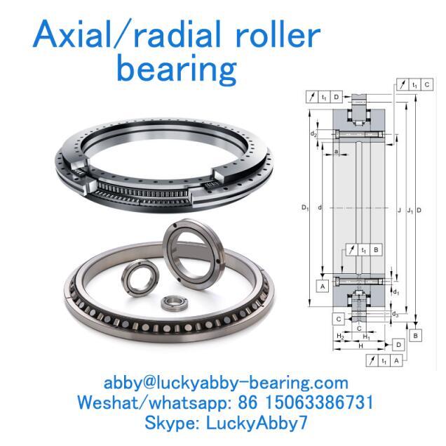 YRTC850-XL Precision rotary table bearing 850MMX1095MMX124MM