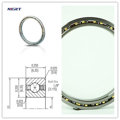 KA042XP0 Slim Four Point Contact Bearing 4.25 x 4.75 x 0.25 inch Bearing