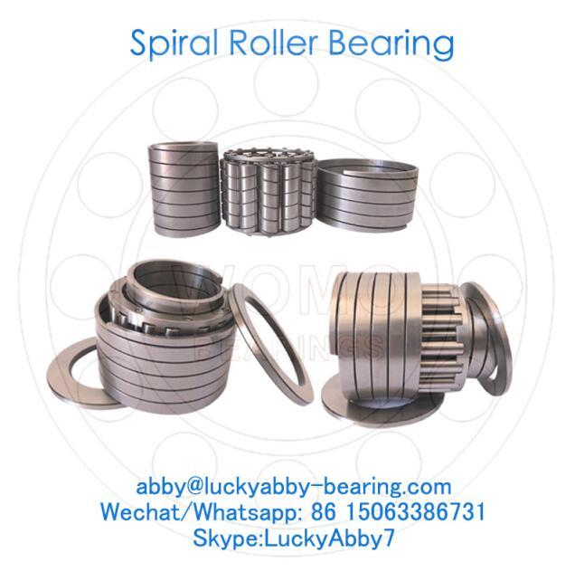 AS8208E Steel Mill Spiral roller bearing 40mmx71mmx28mm