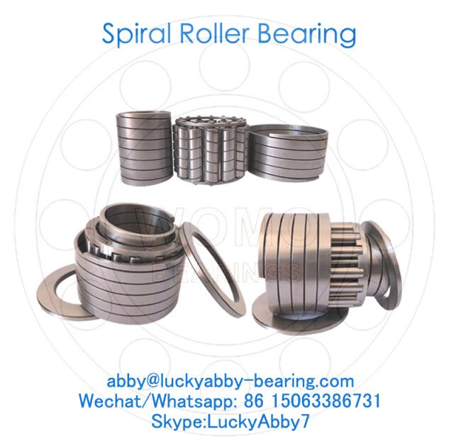 AS8211W Steel Mill Spiral roller bearing 55mmx95mmx63mm