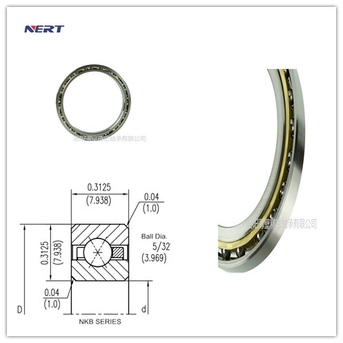 KB070XP0 Thin Bearing Manufacturing Plant Cross Section 5/16 x 5/16 Inch