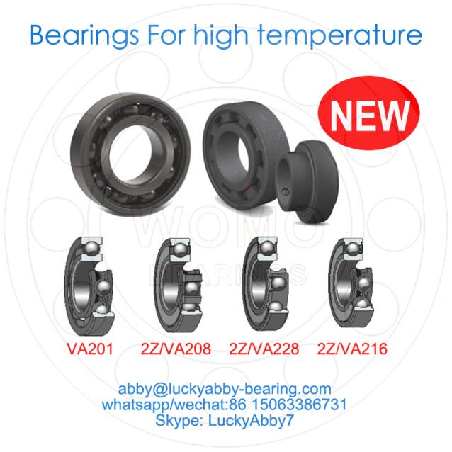 6003-2Z/VA208 Ball Bearings For High Temperature 17mm*35mm*10mm