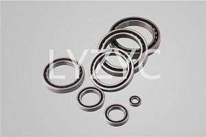 Super high speed angular contact ball bearing HCG7014C/P4