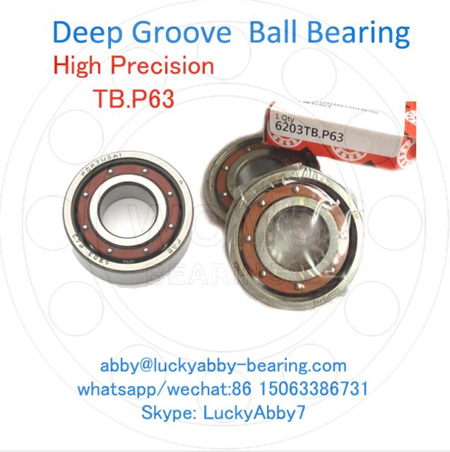 6011TB.P63 / 6011-TB-P6-C3 Super Precision Ball bearing 55mmx90mmx18mm