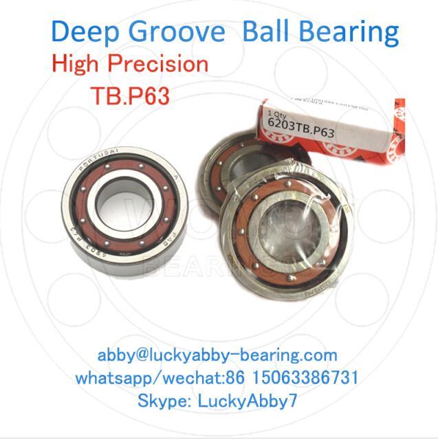 6214TB.P63 / 6214-TB-P5 Super Precision Ball bearing 70mmx125mmx24mm