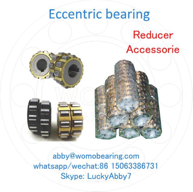 RN206M , 502206H Gear Reducer Eccentric Roller Bearing 30mmX53.5mmX16mm