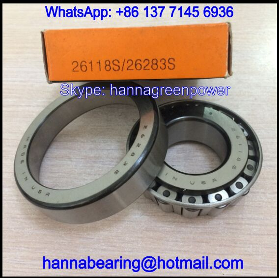 26118S/26283S Auto Bearing / Tapered Roller Bearing 30x72x19mm
