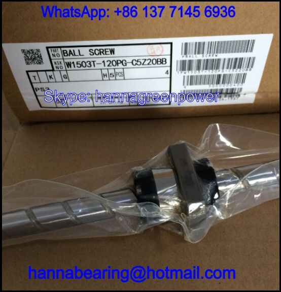 W1503T-120PG-C5Z20 / W1503T-120PG-C5Z Ball Screw Units