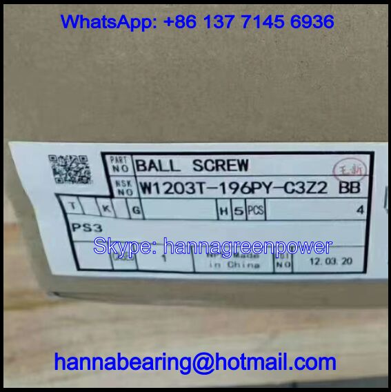 W1203T-196PY-C3Z2 / 20T2-0011 03T-196 Ball Screw Units
