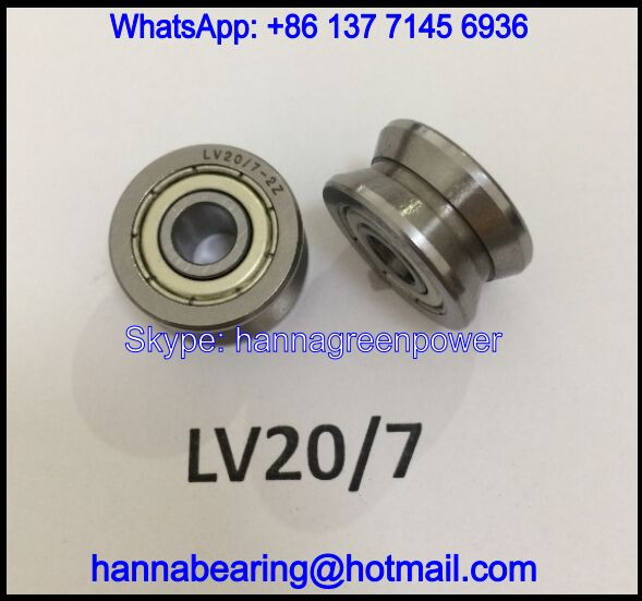 LV20/7-2Z / LV20/7-2RS / LV20/7 Guide Roller Bearing 7*22*11mm
