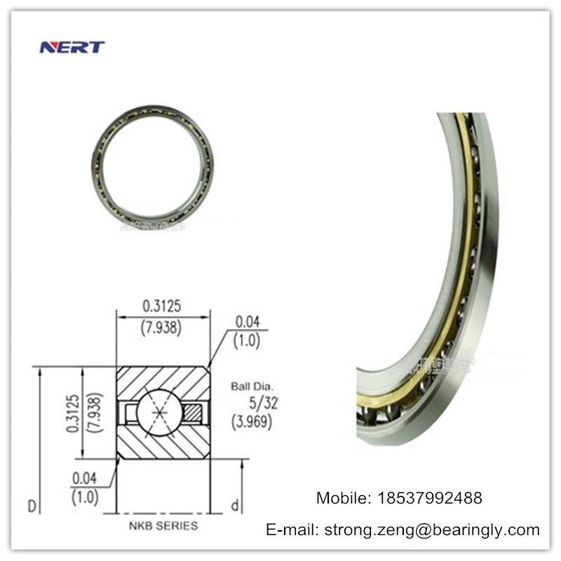 KB160XP0 Precision Equal Section Thin Section Ball Bearing