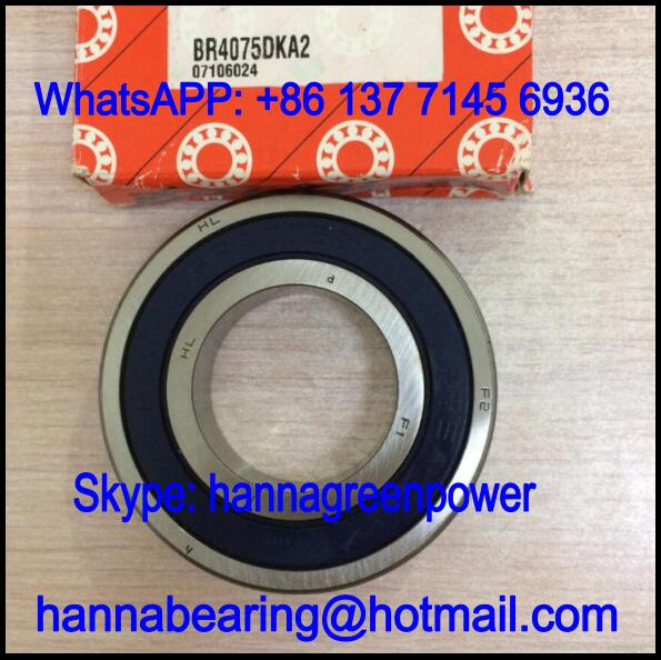 BR4075DKA2 Automobile Bearing / Deep Groove Ball Bearing 38.5x75x16mm