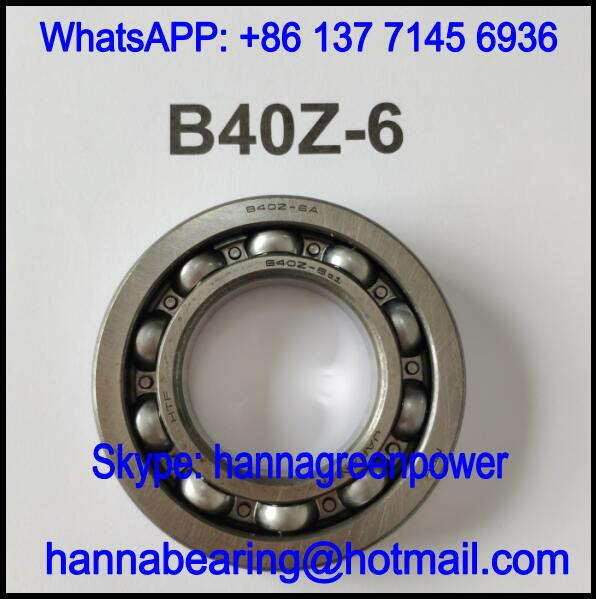 B40Z-6A Automobile Bearing / Deep Groove Ball Bearing 40x76x14mm